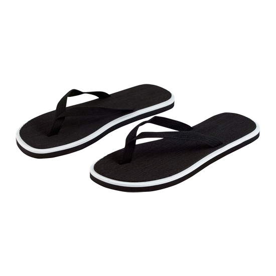Zwarte dames slippers