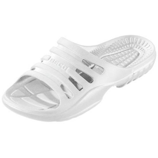 Sauna zwembad slippers wit voor heren