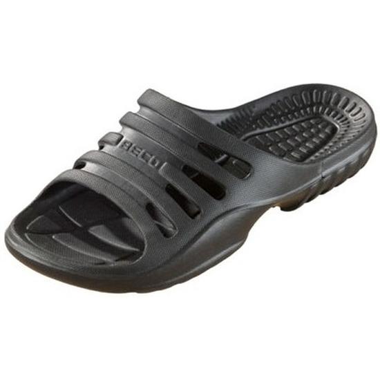 Sauna zwembad slippers zwart voor heren